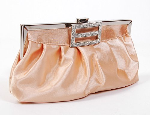 Classic Shoulder Clutch Bag Handbag Tote Apricot by Shanghai Chang