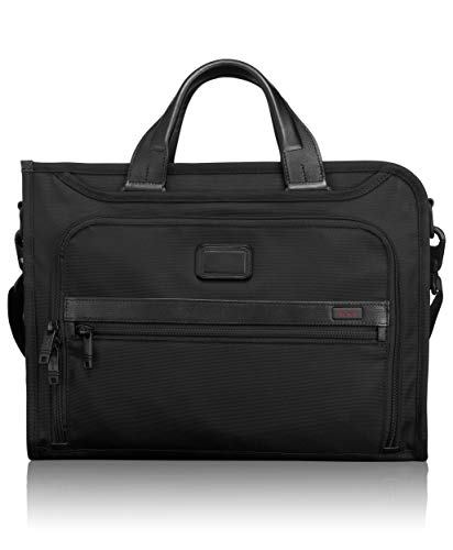 Alpha 2 Compact Laptop Brief Pack - 15 Inch Computer Backpack for Men and Women - Black ()