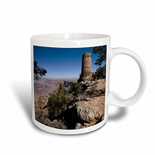 3dRose mug_87846_2 South Rim, Grand Canyon Desert, Arizona Us03 Dpb0002 Douglas Peebles Ceramic Mug, 15-Ounce (Coffee Canyon)
