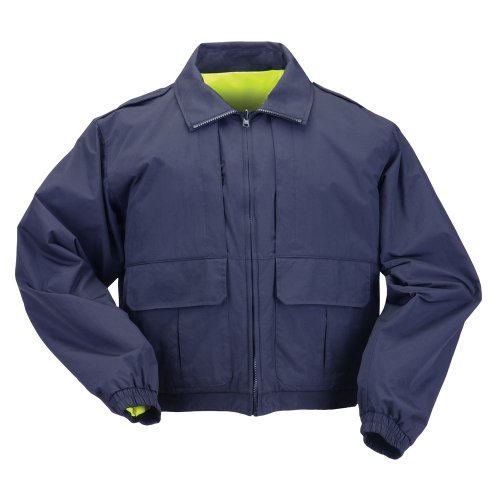 5.11 Tactical #48095 Reversible High Vis Duty Jacket (Dark Navy, XX-Large) ()