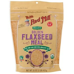 BOB'S RED MILL, Organic Flaxseed Meal, Golden, Pack of 4, Size 16 OZ, (Gluten Free Kosher 95%+ Organic) by Bob's Red Mill