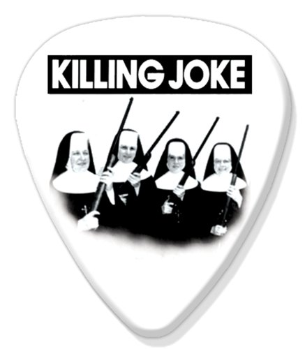 Joke Refrigerator Magnet - Killing Joke Big Guitar Plectrum Fridge Magnet