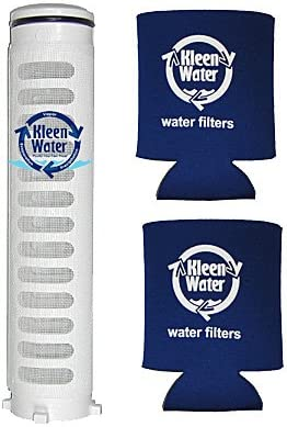 Two Genuine KleenWater Can Holders 1 1//2 Inch 60 Mesh Spin-Down Sand Separator Replacement Filter Screen FS1-1//2-RE