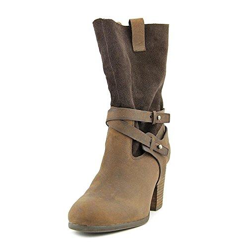 Denim & Supply Ralph Lauren Mattie Leather Ankle Boot, Dark Brown, Size - Boots Lauren Ralph Polo Women For