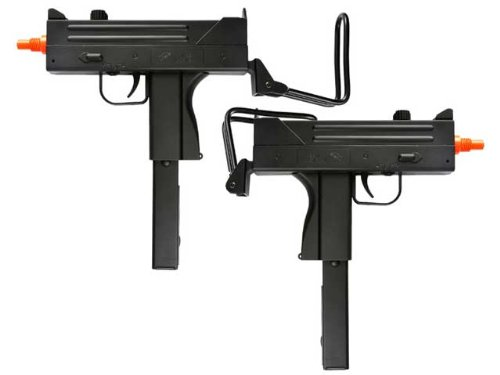 BBTac Dual Spring M42F Spring SMGs 200 FPS Spring Airsoft Gun (Toy Uzi)