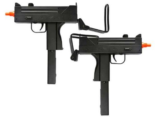 BBTac Dual Spring M42F Spring SMGs 200 FPS Spring Airsoft Gun (2-Pack) - Airsoft Guns Dual Pistols