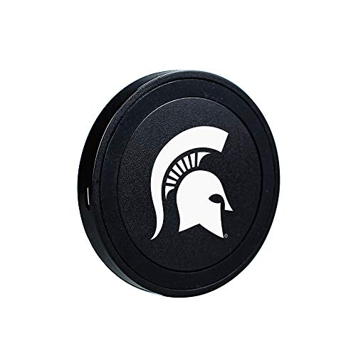 QuikVolt Michigan State Spartans Launch Pad Wireless Charger - Black
