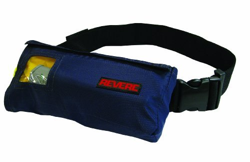 - Revere ComfortMax Inflatable Belt Pack Type III Personal Flotation Device (Navy Blue, 30-52-Inch)