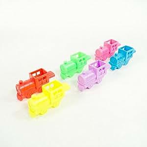 US Toy Mini Train Whistles, One Dozen Assorted