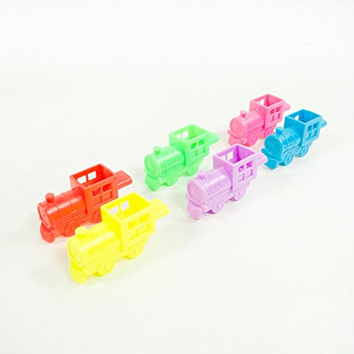 US Toy Mini Train 12 Whistles (1 Pack)