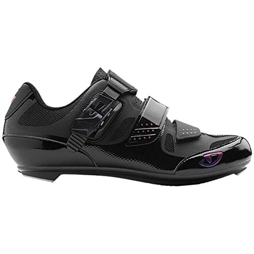 Giro Solara II Womens Road Cycling Shoes Black 40
