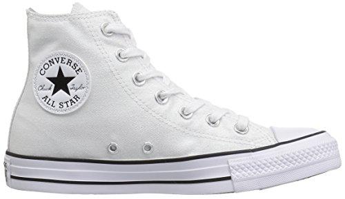 white Donna All Luminoso Star black Con Collo White A Alto Chuck Converse Taylor Inserto cvRfv7