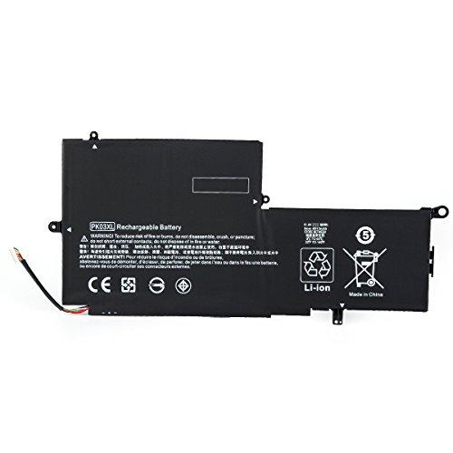 PK03XL Battery 11.4V 56WH Replacement for HP Spectre Pro X360 G1 G2 Spectre 13-4000 13-4100 13-4200 13-4000nf 13-4006tu 13-4103dx 13-4003dx Laptop HSTNN-DB6S TPN-Q157 789116-005 788237-2C1