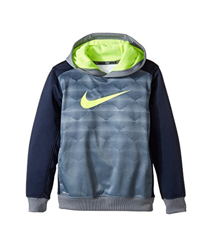 - Nike Boys Therma-Fit Hoodie -Cool Grey -SIZE 6