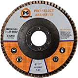 """40-Pack 40 Grit Flap Discs 4 1/2"""" Super Thick T29"""