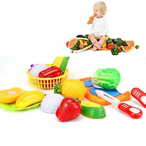 LAMEIDA per educare i bambini a vivere le attivit/à domestiche della cucina kit di frutta e verdura giocattolo da tagliare