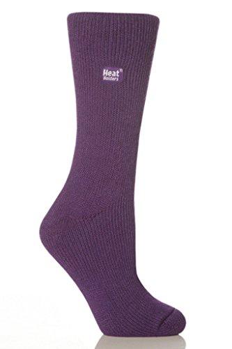 Calcetines térmicos para mujer, zapatos originales de EE. UU, Púrpura, S-M