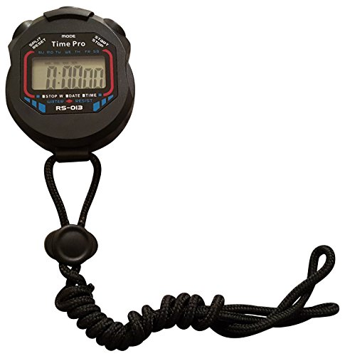 ProCoach RS 013 Water Resistant Sports Stopwatch with Time and Alarm Function