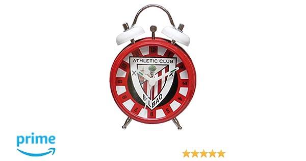 CYP Imports RD-31-AC Reloj Despertador Campanas, diseño Athletic Club Bilbao Sintético 13x6x18 cm: Amazon.es: Hogar