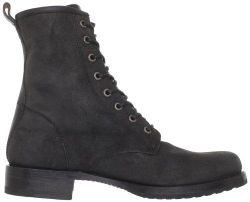 De Frye Veronica Combat Laarzen Voor Dames & Enkellaars Zwart