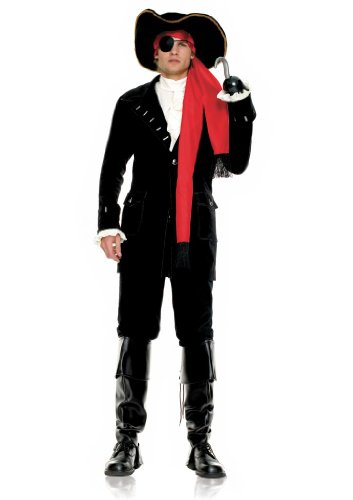 Leg Avenue Pirate Captain Costumes - Leg Avenue Men's Pirate Captain Costume,