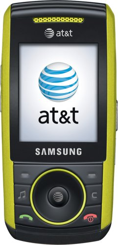Samsung A737 Lime Green Phone ATT
