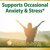 Nature's Bounty Anxiety and Stress Relief, Contains Ashwagandha and L-Theanine for Occasional Anxiety and Stress*, 50 Tablets