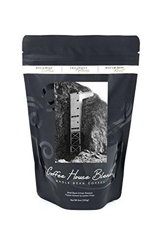 Oregon - North Entrance Stairway to Sea Lion Caves (8oz Whole Bean Small Batch Artisan Coffee - Bold & Strong Medium Dark Roast w/ (North Entrance)