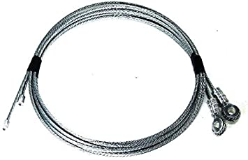 """U-Bolt Cable Anchor for Whiting Style Truck Door Cables 1 1//2/"""" Overall Length"""