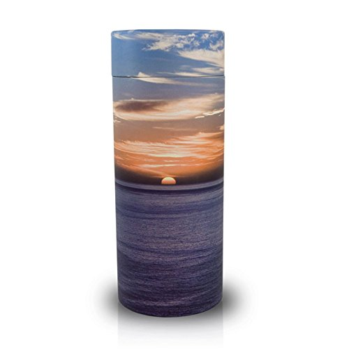 Sunset Biodegradable Burial Urn