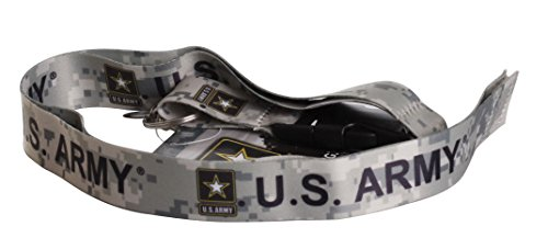 US Army camouflage Official Licensed Lanyard Key Chain ID Holder