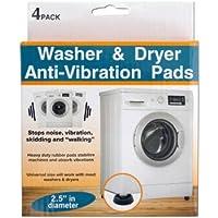 Washer & Dryer Anti-Vibration Pads Set (2 Packs)