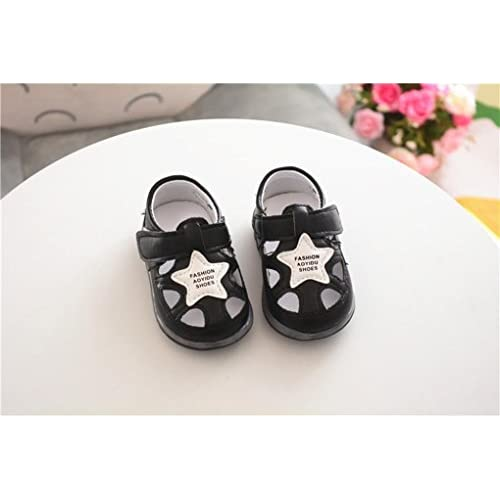 Sunbona Baby Boys Girls LED Light Up Sandals Soft Sole Anti-Slip Summer Toddler Luminous Sneaker Shoes