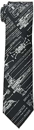 Star Wars Men's Blue Print Tie, Black, One Size