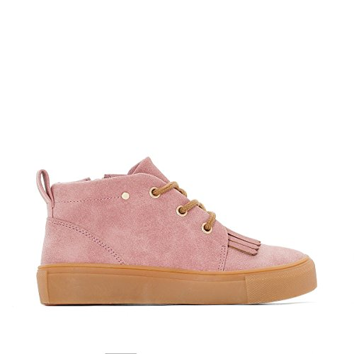 La Redoute Collections Mdchen Sneakers mit Zierpatte, Gr. 2639 Gre 36 Rosa