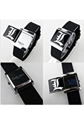 Cosplay Costume Anime Watch Wrist Watch with Cool Led Death Note