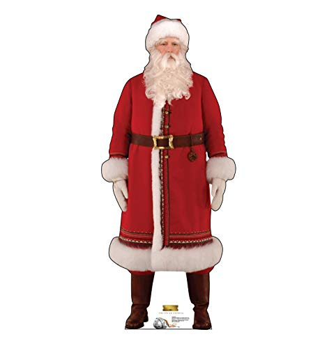 Advanced Graphics Santa Life Size Cardboard Cutout Standup - The Polar Express (2004 Film) ()