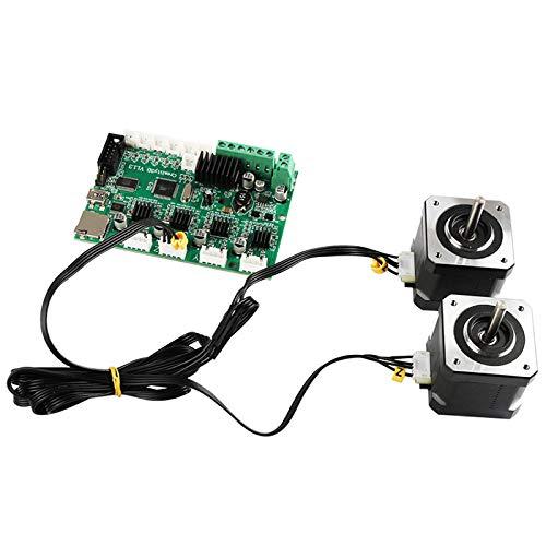 Ender-3 TOOGOO Accesorios De Impresora 3D Cable del Motor Paso A Paso Cable del Motor Doble Z-Ejes para Cr-10 Cr-10S