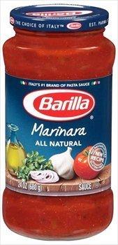 Sauce Spaghetti Barilla - Barilla Marinara All Natural Pasta Sauce 24 oz