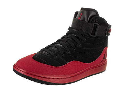 Jordan Nike Men's KO 23 Black/Gym Red/Black Basketball Shoe 10.5 Men US by Jordan
