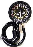 Valve Gauge Kit Tool Fuel Pump & Vacuum Tester Accurate Engine Carburetor Plug Tester Kit Test Fuel Pump Output Pressure to 10PSI.