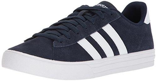 (adidas Men's Daily 2.0 Sneaker Collegiate Navy White, 10.5 M US)