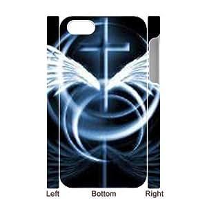 3D Bumper Plastic Case Of Jesus Christ Cross customized case For Iphone 4/4s