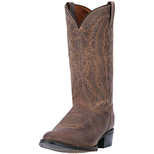 Mens 12' Dan Post - Dan Post Men's 12'' Cash Round Toe Western Casual Boots, Brown Leather, 7 D