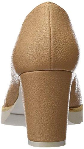 Fermé Bout Gadea à Chaussures 40544 avec Ginger Skin Femme Marron Marron Talon Skin xqAnUFwnCY
