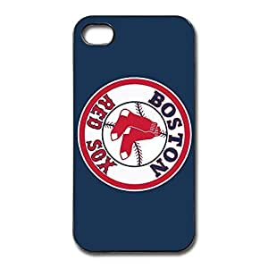 Boston Red Sox Fit Series Case Cover For IPhone 4/4s - Case