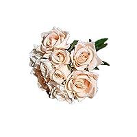 Cupcinu Artificial Flowers - Flowers Bouquet Silk Artificial Rose Bridal Wedding Bouquet for Home Garden Party Wedding Decoration 7427cm