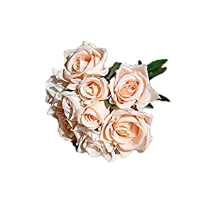 Cupcinu Artificial Flowers - Flowers Bouquet Silk Artificial Rose Bridal Wedding Bouquet for Home Garden Party Wedding Decoration 7427cm 93