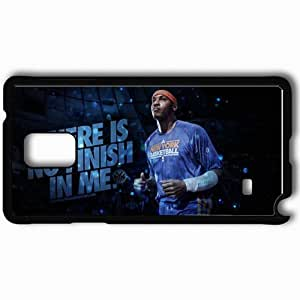 Personalized Samsung Note 4 Cell phone Case/Cover Skin 14641 knicks wp 39 sm Black