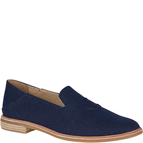 Sperry Top-Sider Seaport Levy Canvas Loafer Women 9.5 Navy